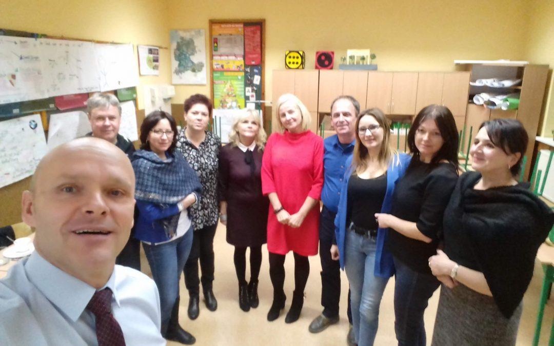 SZKOLENIEElementarius w Publicznym Gimnazjum w Walcach.