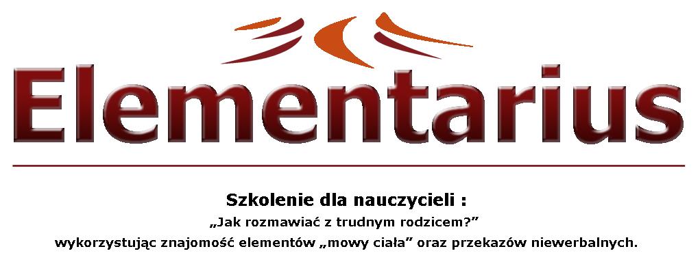 SZKOLENIEElementarius w Zespole Szkół nr 1 im. Powstańców Śląskich w Kędzierzynie-Koźlu.